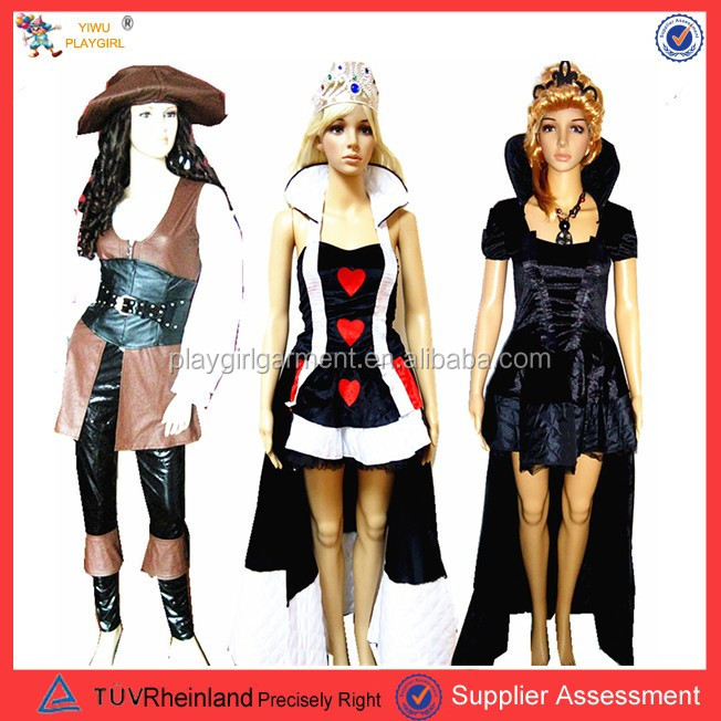 Sexy women cosplay costume halloween party adult costume for sale PGFC-2531
