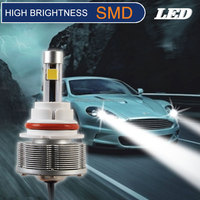 9004 Led car or motorcycle or trucks headlightings 2smd chips Lamps