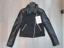 Women PU jacket stock
