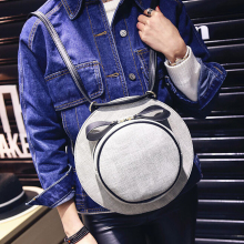 Bz1324 2016 new hat shoulder bag handbag Korean women bags wholesale