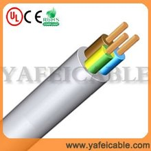 Copper Conductor PVC Insulation Shielded Flexible Power Cable