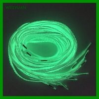 China supplier colorful running shoes use glow in the dark shoe laces