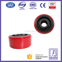 High Quality Forklift Parts PU Caster Wheel 127*57mm