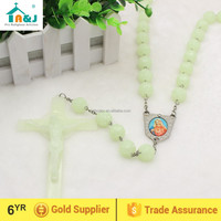 Large Glow in the Dark Plastic Wall Rosary
