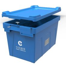 Logistic storage container with lid PK5432