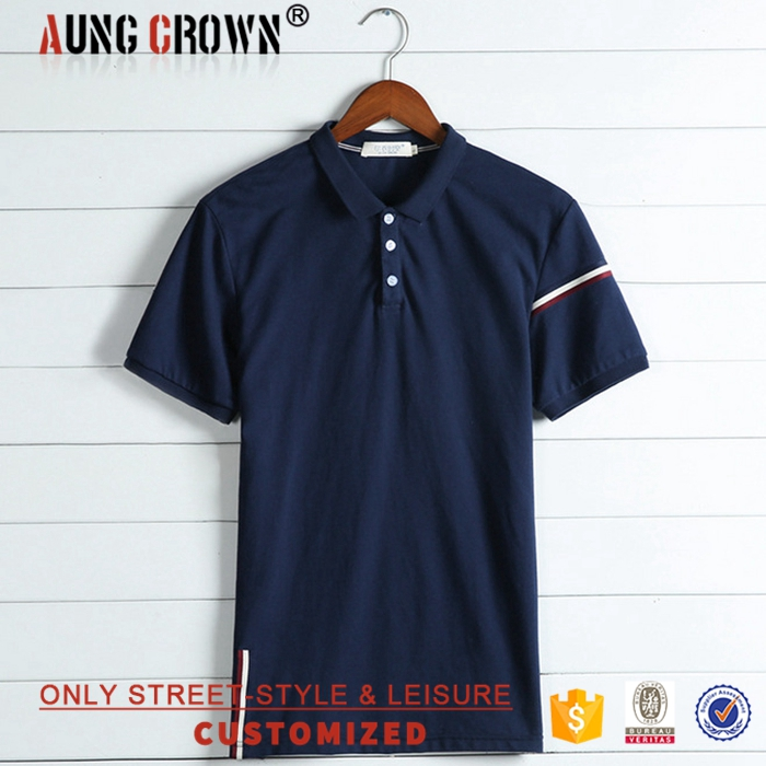 Wholesale Men's Cotton Short Sleeve Polo Shirt Good Quality Fashion Style