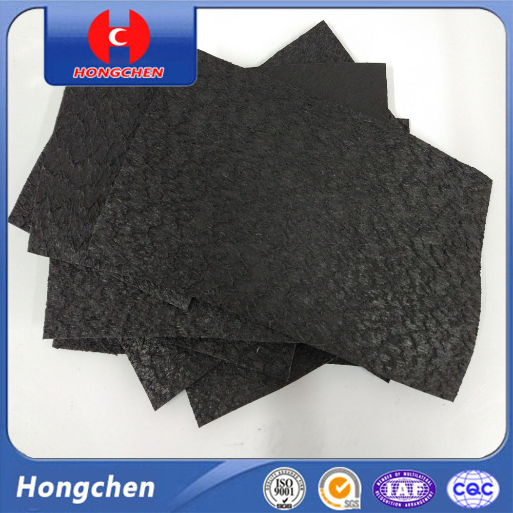 New 0.15mm-0.5mm EPDM LDPE Malaysia Black Fish Farm Pond Liner , Waterproofing HDPE Geoemembrane Water Pond Liner
