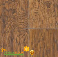 White Oak Wood Grain Luxury 8mm Laminate Flooring