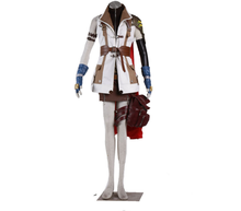 Final Fantasy 13 Thunder Thunderbolt Cosplay Costumes Animation Suit HIGH END CUSTOM