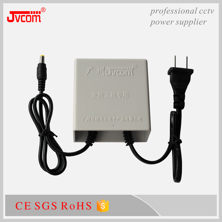Wholesale power adapter JVCOM C2 DC12V2.5A Double line waterproof power supply