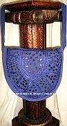 Hand Embroidered Shoulder bags-Indian Ethnic Mirror Work Handbag