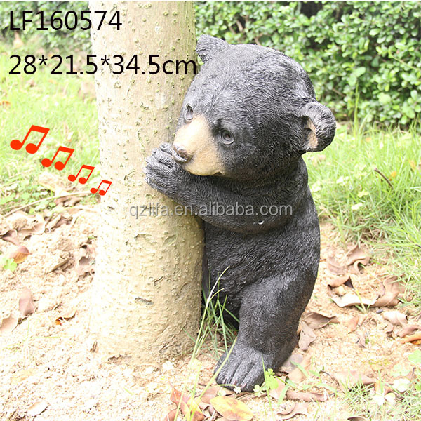 Resin bear figurines decoration toy crafts