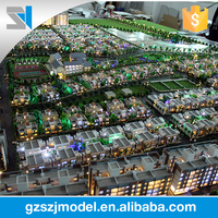 The most advanced equipment manufacturing India lodging house building a scale model