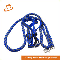 Material is qualitative soft dog training leash