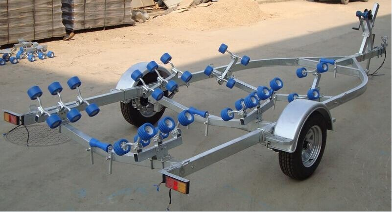 20ft galvanized boat trailer anti-rust steel boat trailer