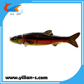 Wholesale 16.5cm multi jointed fishing pike lures