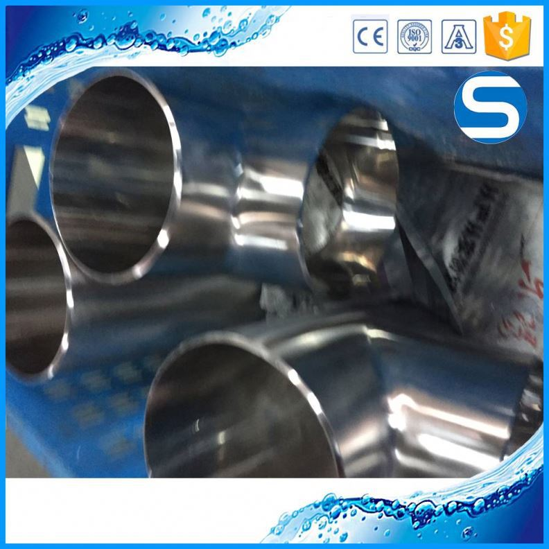 ISO,CE,3A Certification Stainless Steel Reducing Din Clamp Sanitary Fitting Tee