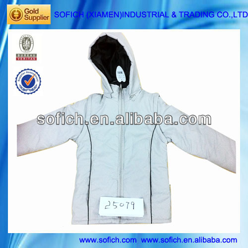 2013 Stock Lot Ladies Dress Padded Jacket