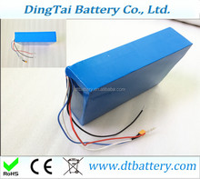 lithium battery for 60v 1500W motor 60v 20Ah battery pack Samsung cell ICR18650 22p for Electric vehicles