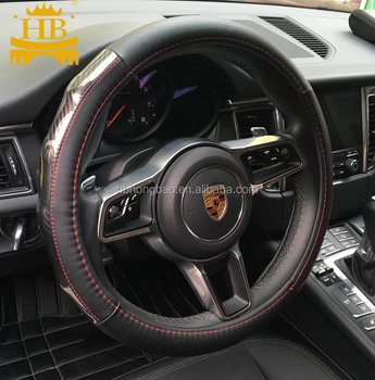 Massage foam car steering wheel cover