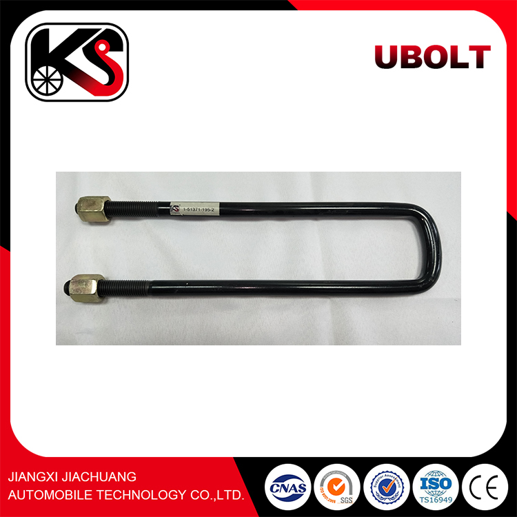 Suspension System Parabolic Truck Leaf Springs With U Bolt