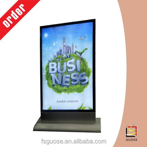 magnetic light box/aluminum snap frame diy led light box