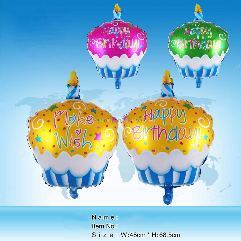Wholesale Cake shape factory inflatable candy shaped balloons