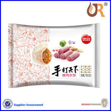 Frozen dumpling packing plastic bag custom and design factory in China