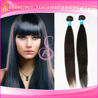 Low price 100 Human hair extensions straight virgin Brazilian hair weaving silky straight