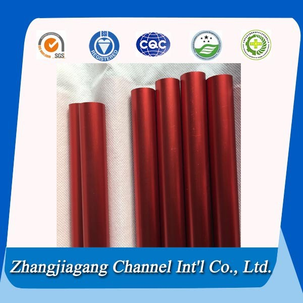 Hot Sale Industrial/Family 6000 series (6061 6063) round aluminum vent pipe cladding pole