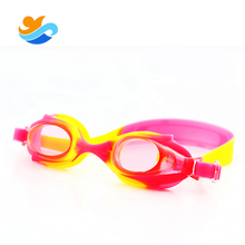 Factory Sale Colorful swimming glasses for kids