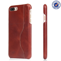 2016 new trendy products smart phone case for iphone 7 genuine leather cell phone case