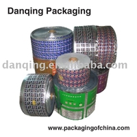 Candy packaging film roll