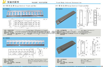 Cargo Control Track for Freezer Truck