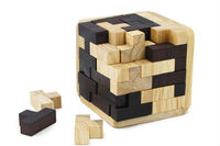 New Children intelligence logs unlock toy black white blocks puzzle gifts toys