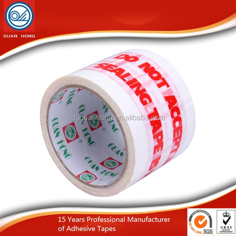 Alibaba China Yellowish Honey Acrylic Adhesive BOPP Big Core Stationery Opp Packing Tape