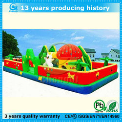 Model giant inflatable mushroom bouncy slide castles
