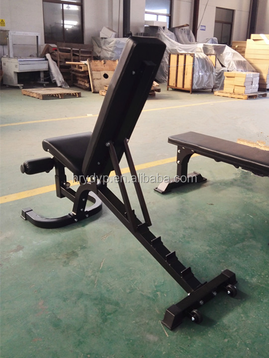 deluxe sit up bench, weight bench,Gym equipment, fitness equipment HRSB59