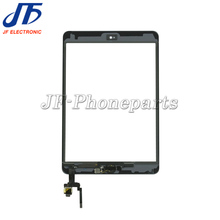 jfphoneparts replacement For iPad mini 3 Touch Screen Digitizer panel with Home Button flex and IC Connector