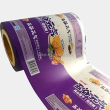 Plastic sachet packaging film made in China