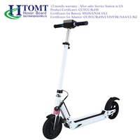 2017 Shock Absorber Carbon electrical scooter Two Wheel Mobility Motor Electric Scooter