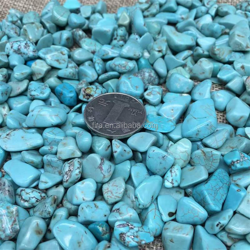 Wholesale Rough Gemstone Crystal Turquoise Tumbled Stones
