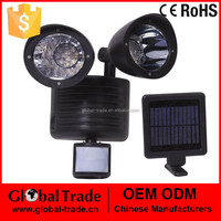 22 LED Solar Power Rechargeable Pir Motion Sensor Security Light Outdoor Garden H0027