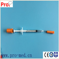medical disposable Insulin syringe 0.3ml 0.5ml 1ml