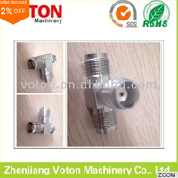 free samples tnc female three ways T modle rf connector adaptor
