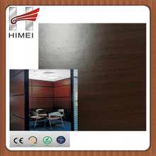wood grain metal plasticized sheets for office partition wall