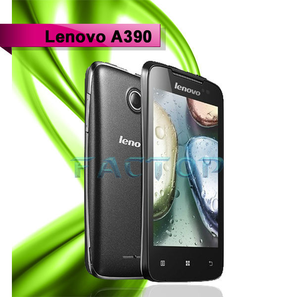 lenovo a390 dual sim card best quality hot sale dual core china mobile phone java games
