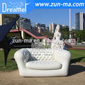 Inflatable couch outdoor for events