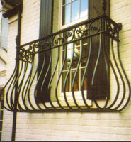 iron grill design for balcony