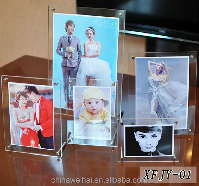 2017 new style acrylic photofunia photo frame